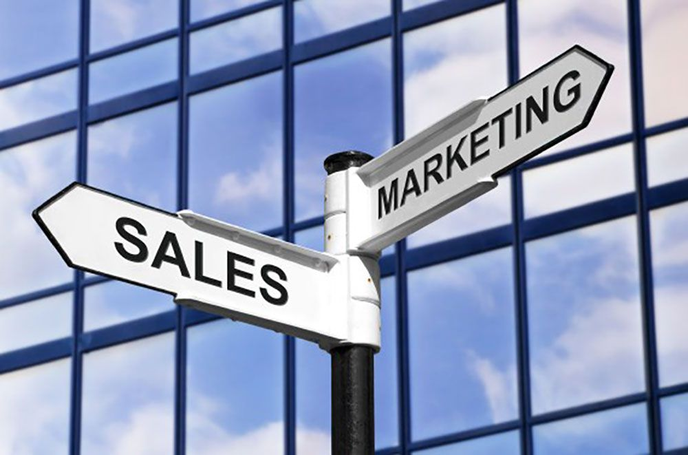Image result for sales và marketing